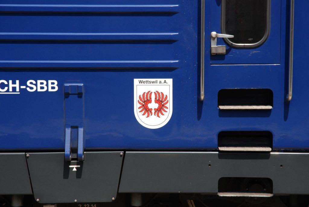 Wappen Wettswil a. A.