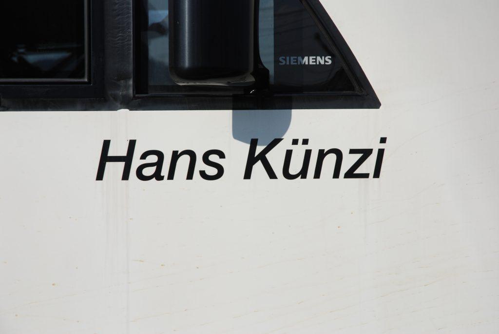 Namen Hans Künzi
