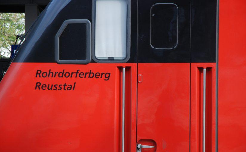 Namen Rohrdorferberg Reusstal