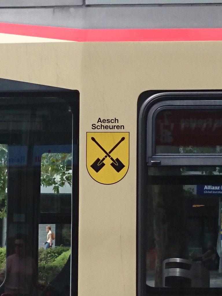 Wappen Aesch Scheuren