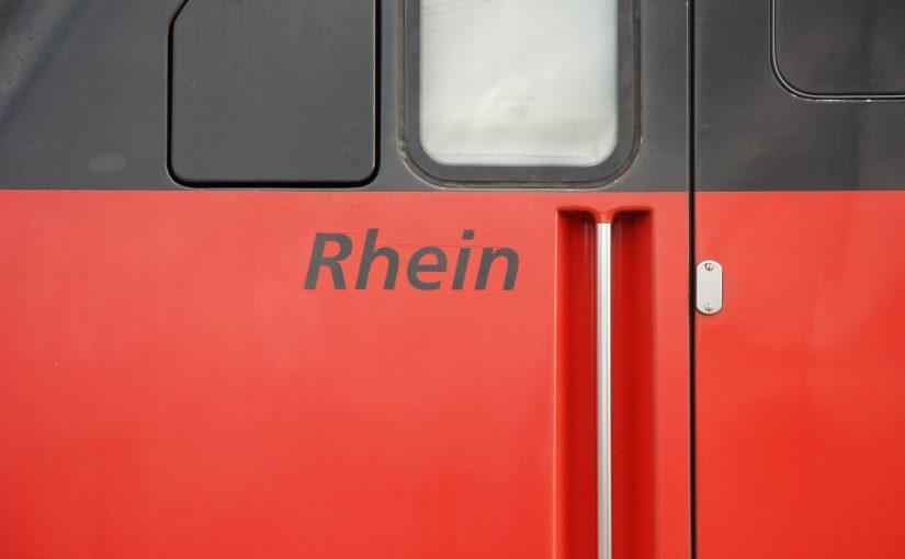 Namen Rhein