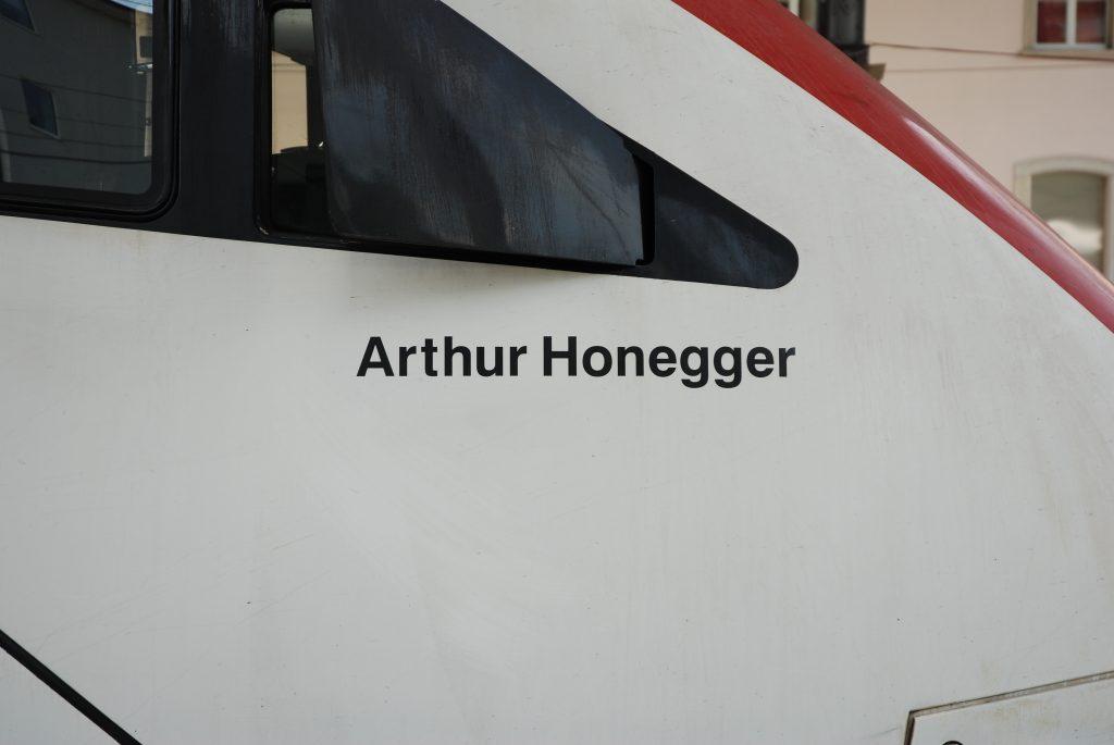 Namen Arthur Honegger