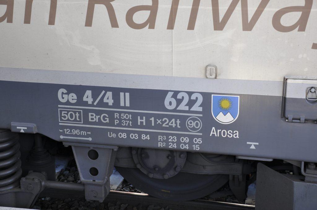 Wappen Arosa