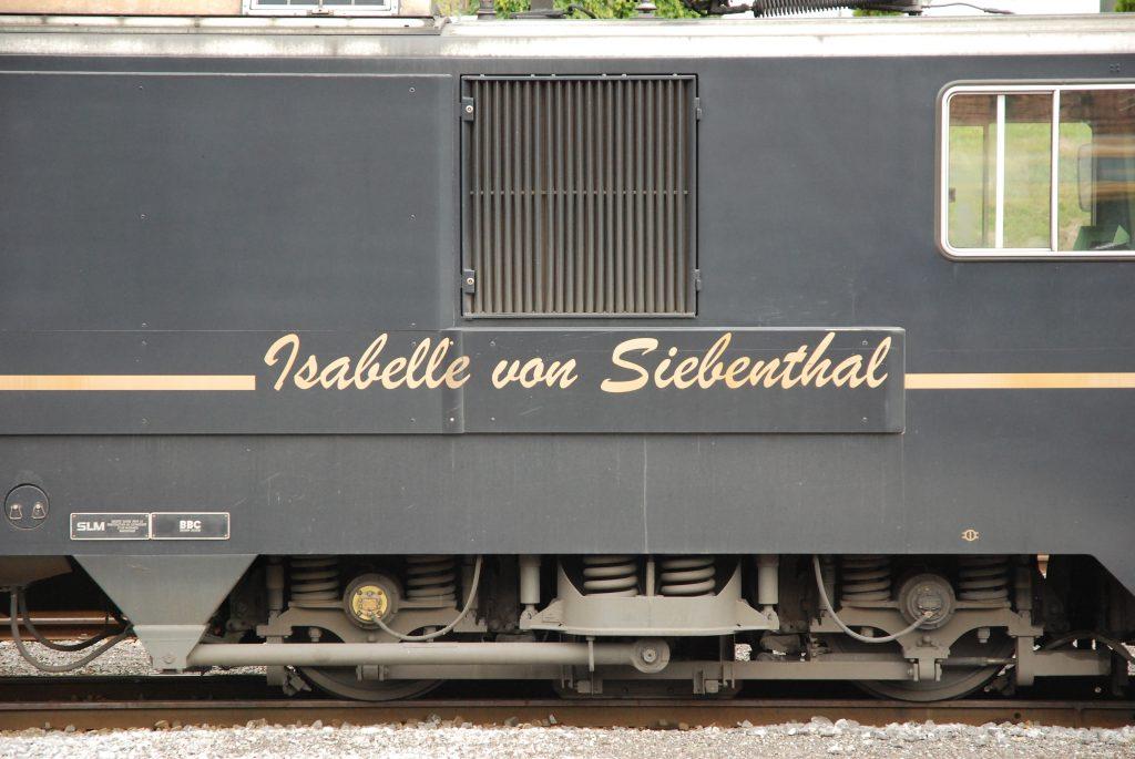 Namen Isabelle von Siebenthal