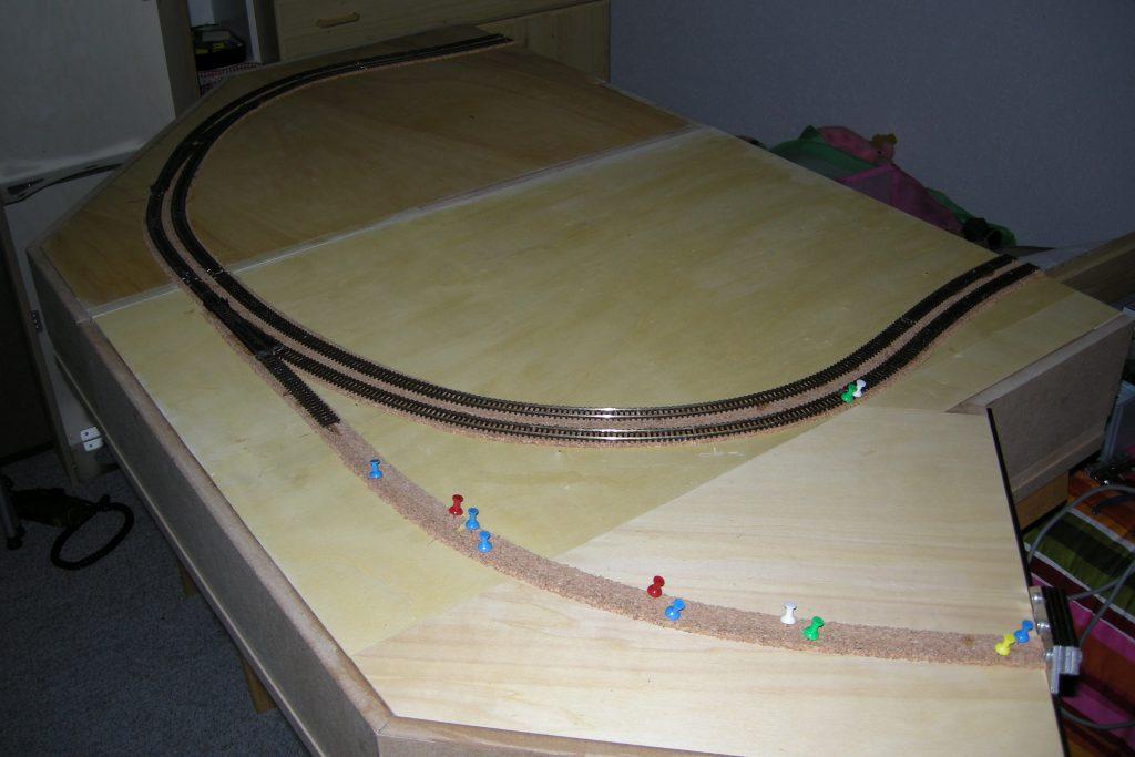 Streckenverlauf Modul 08 + 01