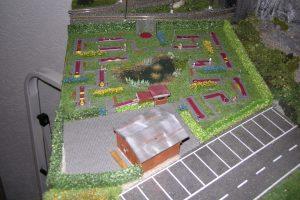 Die Minigolf-Anlage