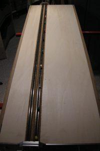Baubeginn - Die Gleise liegen