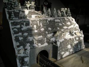 Detailaufnahme vom Berg