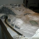Der grosse Berg entsteht