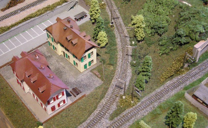 Landschaftsausbau von oben