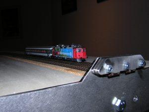 Die ersten Gleise wurden mit der Gleislehre verlegt