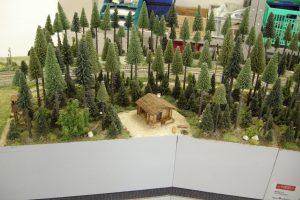 Die Waldhütte - ist übrigens ein Eigenbau