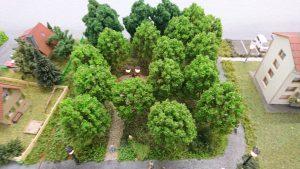 Die neuen Parkbäume