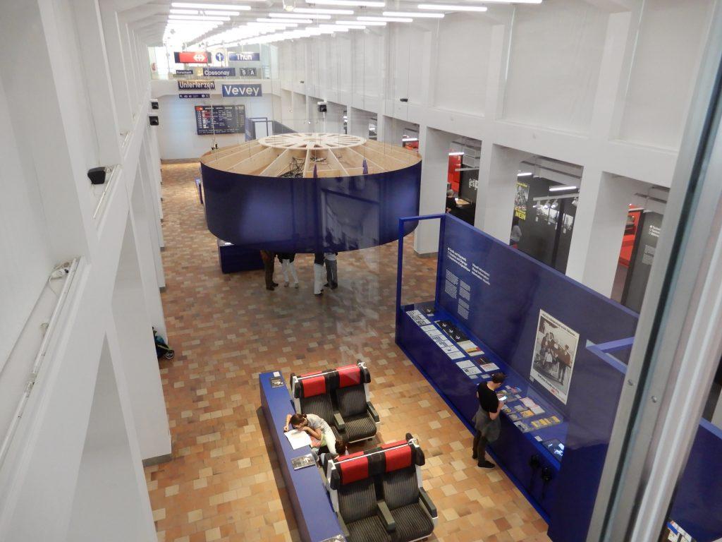 3. Blick von der Galerie