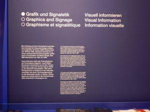 Grafik und Signaletik