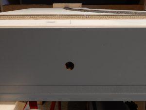 Ein-/Aus-Schalter für das Abstellgleis