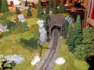 Blick Richtung Tunnel