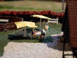 Im Garten vom Ferienhof