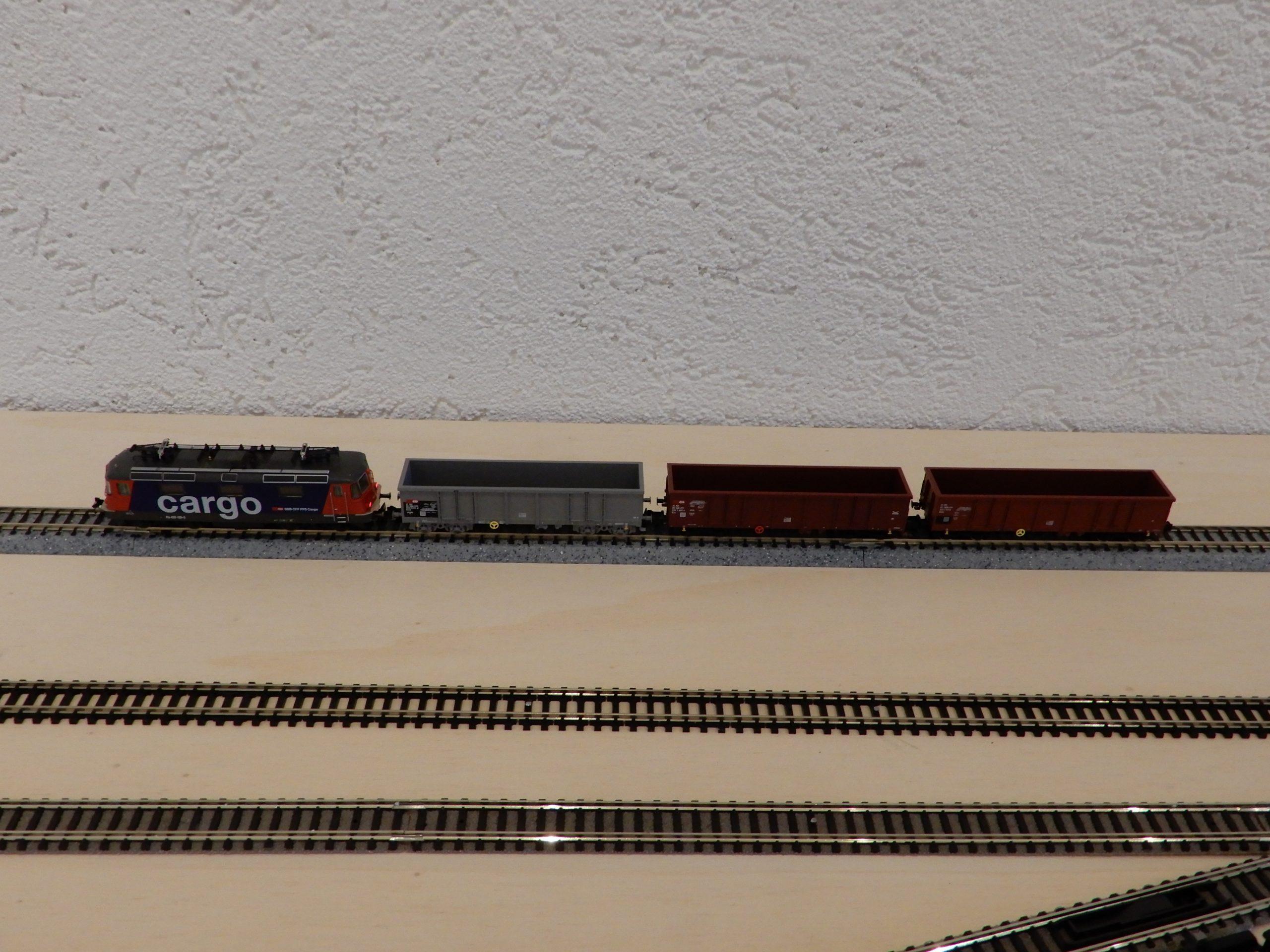 Zug aus dem Fleischmann Startset 9318.93
