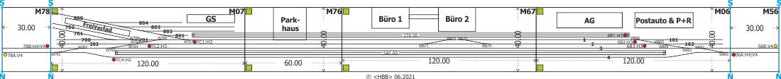 Kombination der Module 06 + 07 + 56 + 67 + 76 + 78