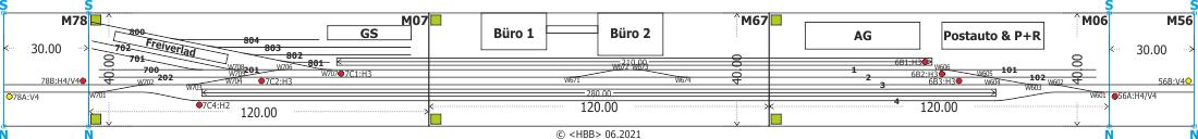 Kombination der Module 06 + 07 + 56 + 67 + 78