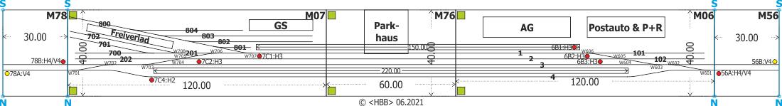 Kombination der Module 06 + 07+ 56 + 76 + 78