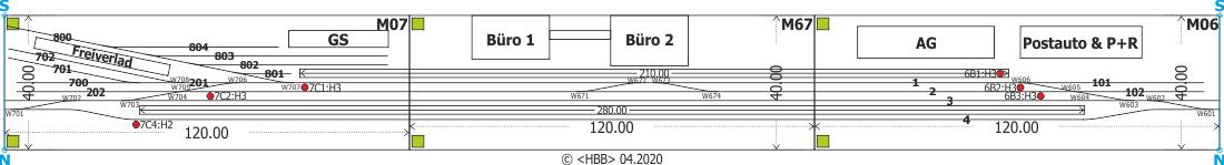 Kombination der Module 06 + 07 + 67