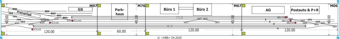 Kombination der Module 06 + 07 + 67 + 76