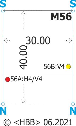 Streckenmodul 30x40 mit Einfahrblock