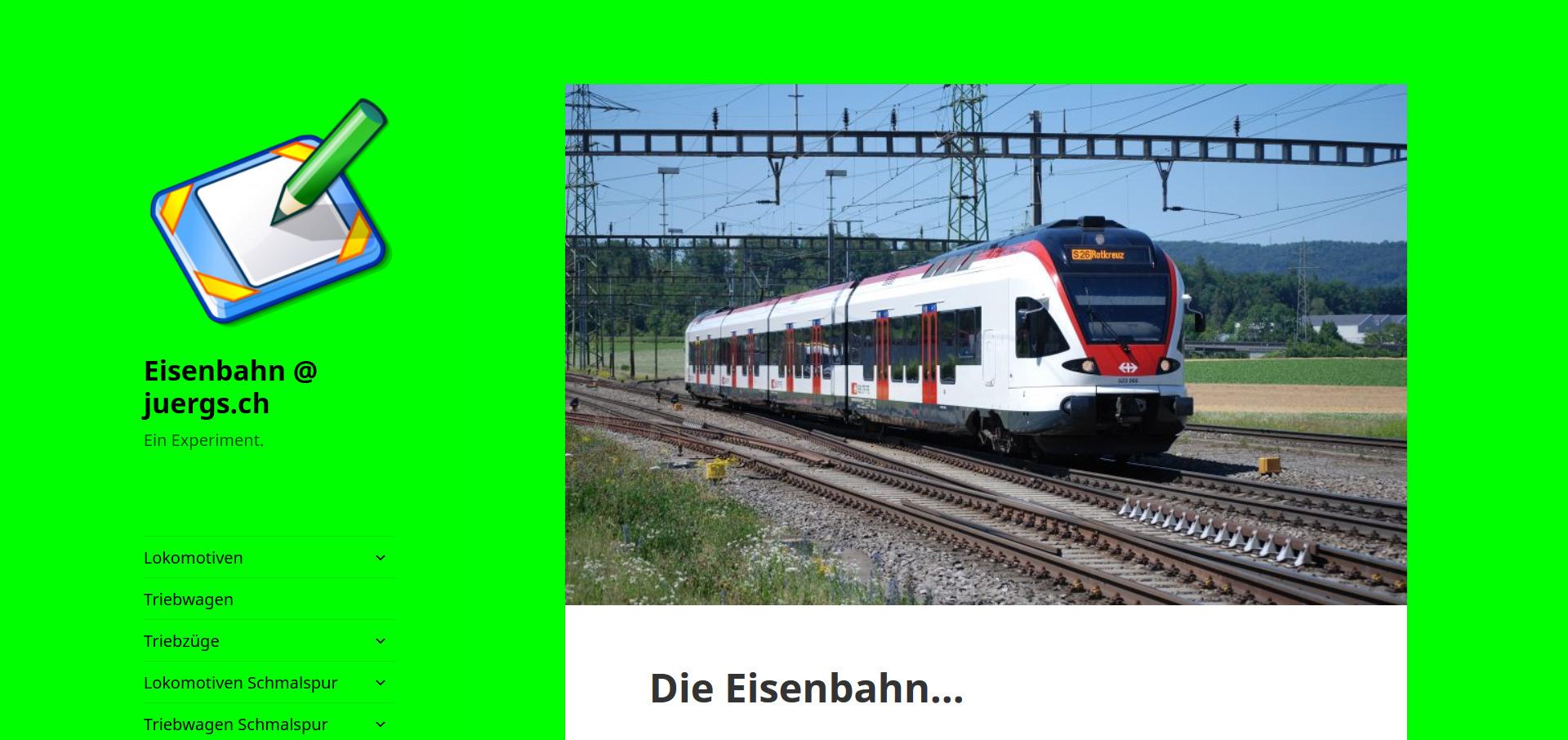 Eisenbahn @ juergs.ch