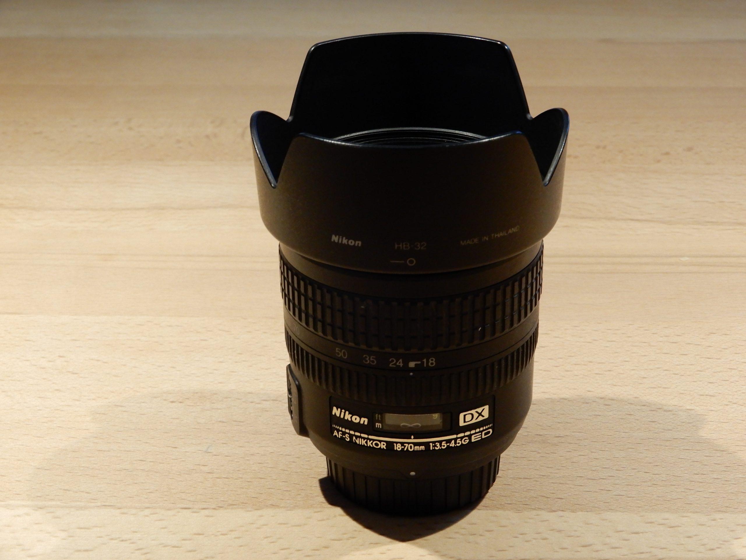 Nikon DX 18-70mm